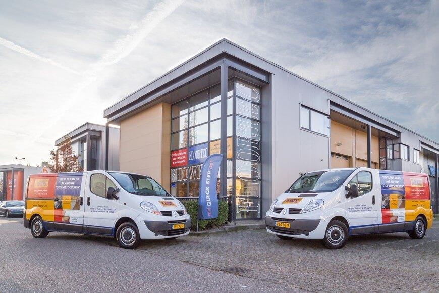 Floortec bedrijfspand en bedrijfswagens