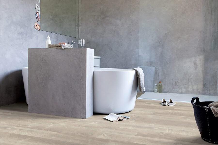 vloer in badkamer Lyvin serie