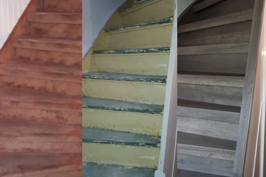 Laminaat trappen u floortec schilten