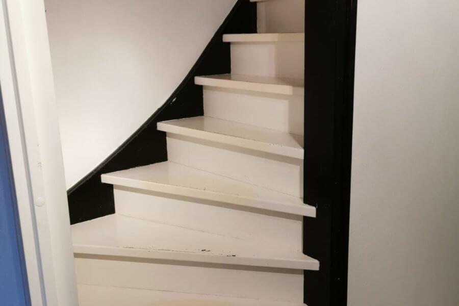 Voor een traprenovatie van Floortec